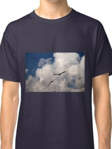 seagull fly in the sky Classic T-Shirt