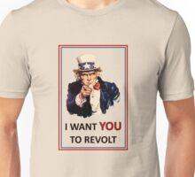 Uncle Sam I Want You To Revolt Unisex T-Shirt