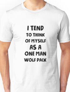One man wolf pack Unisex T-Shirt
