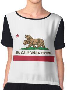 [HQ] New California Republic Flag Chiffon Top