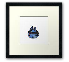 Super Smash Boos - Lucario Framed Print
