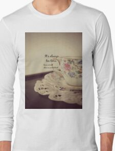 Tea Time Alice Wonderland T-Shirt