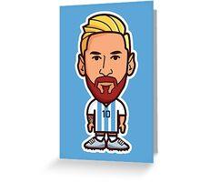 Lionel Messi, Argentina Greeting Card