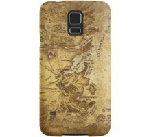 Distressed Maps: Game of Thrones Westeros & Essos Samsung Galaxy Case/Skin