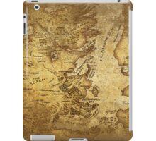 Distressed Maps: Game of Thrones Westeros & Essos iPad Case/Skin