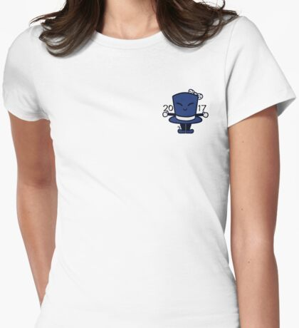 Tippy the Top Hat '17 Womens Fitted T-Shirt