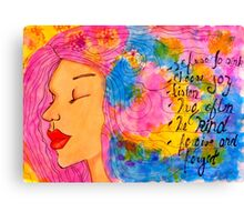 Fionas Art Canvas Print
