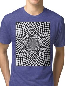 Optic Illusion Tri-blend T-Shirt