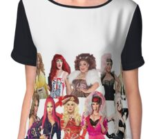 Rupaul's Drag Race All-Stars 2 Girls Chiffon Top