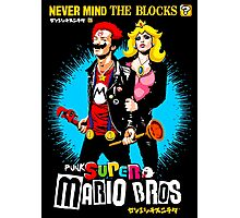 Nevermind the Blocks Photographic Print