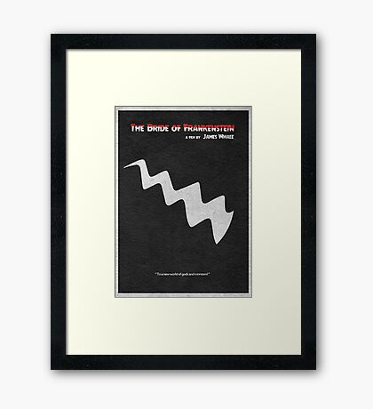 The Bride of Frankenstein Framed Print