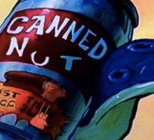 Canned Nut Sticker