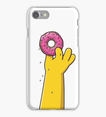 SIMPSONS DONUT iPhone Case/Skin