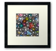 Abstract composition 391 Framed Print