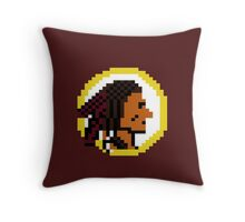 Throwback Redskins 8Bit - 3squire Throw Pillow