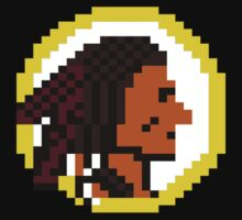 Throwback Redskins 8Bit - 3squire by CrissChords