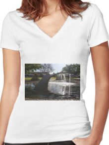The Tail of Victor Harbor Women's Fitted V-Neck T-Shirt