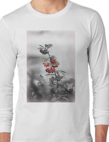 red berries in the garden Long Sleeve T-Shirt