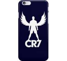 CR7 angel white iPhone Case/Skin