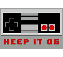 KEEP IT OG - NES Controller Photographic Print