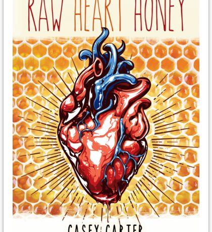 Raw Heart Honey Sticker