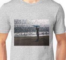 Man with a kite Unisex T-Shirt
