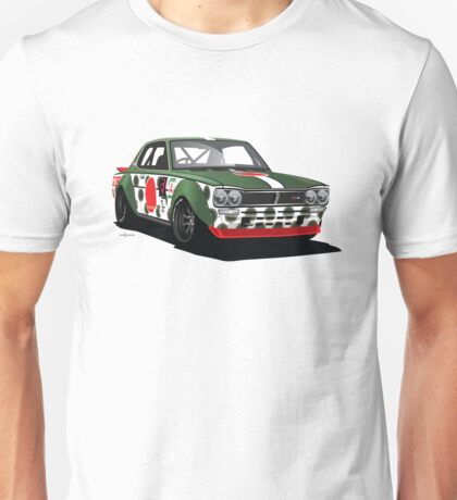 WWII-Themed Vintage Skyline Racer Unisex T-Shirt