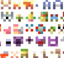 Original 151 Pokemon Minimalism Sticker