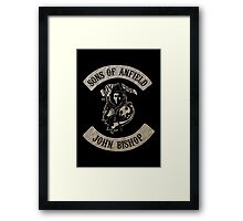 Sons of Anfield - Famous Fans, John Bishop Framed Print