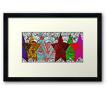 Earth Party Framed Print