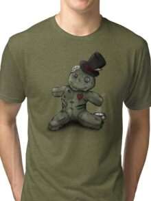 Mad Hatter Rag Doll Tri-blend T-Shirt