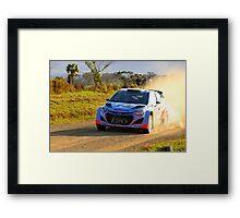 Flying Kiwi Framed Print