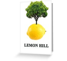 Lemon Hill Greeting Card