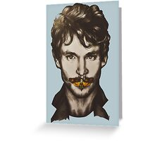 Don't touch Will Graham Greeting Card