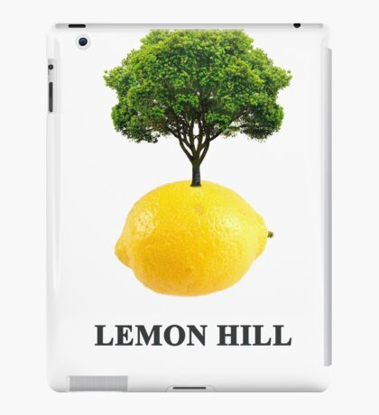 Lemon Hill iPad Case/Skin