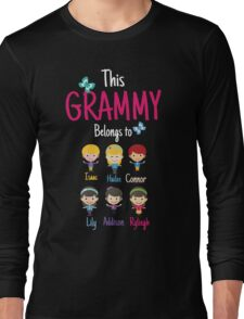 This Grammy belongs to  Isaac Hailee Connor Lily Addison Ryliegh Long Sleeve T-Shirt