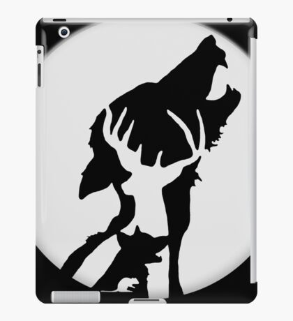 Moony,Wormtail,padfoot,&prongs iPad Case/Skin