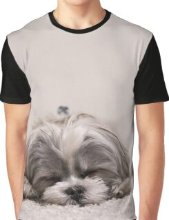 Sleeping Puppy Graphic T-Shirt