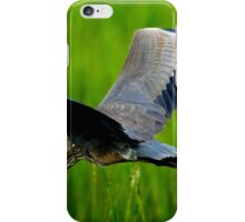 GREAT BLUE HERON INFLIGHT iPhone Case/Skin