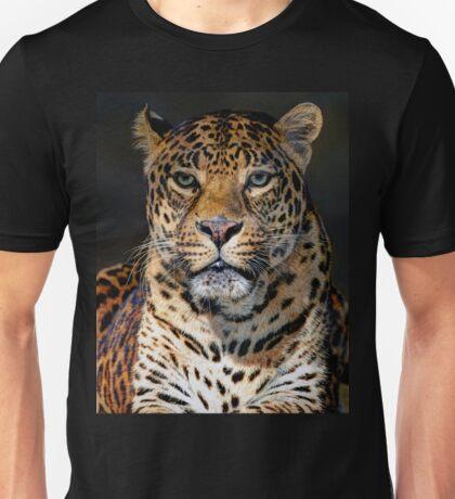 Portrait of Leopard Unisex T-Shirt