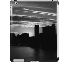 and yet another day closes iPad Case/Skin