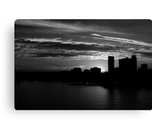 and yet another day closes Canvas Print