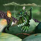 Baby Dragon by Paul Fleet