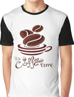 Coffee is life Graphic T-Shirt