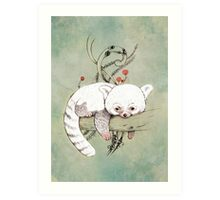 Red Panda! Art Print