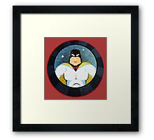 Space Ghost Framed Print