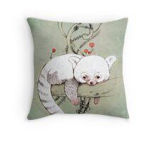 Red Panda! Throw Pillow