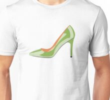 High Heel Shoe in Greenery Unisex T-Shirt