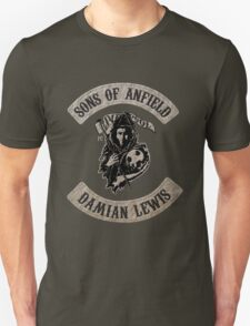 Sons of Anfield - Famous Fans, Damian Lewis Unisex T-Shirt