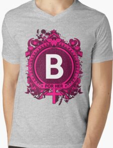 FOR HER - B Mens V-Neck T-Shirt